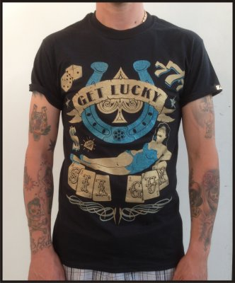 T-Shirt Uomo Six Gun Get Lucky